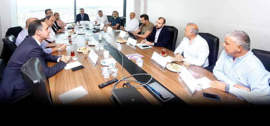 SASA Polyester San. A.Ş. Genel Müdür Vekili İrfan Başkır 10, 11 ve 12. Grup Meslek Komiteleri Ortak Toplantısına Katıldı