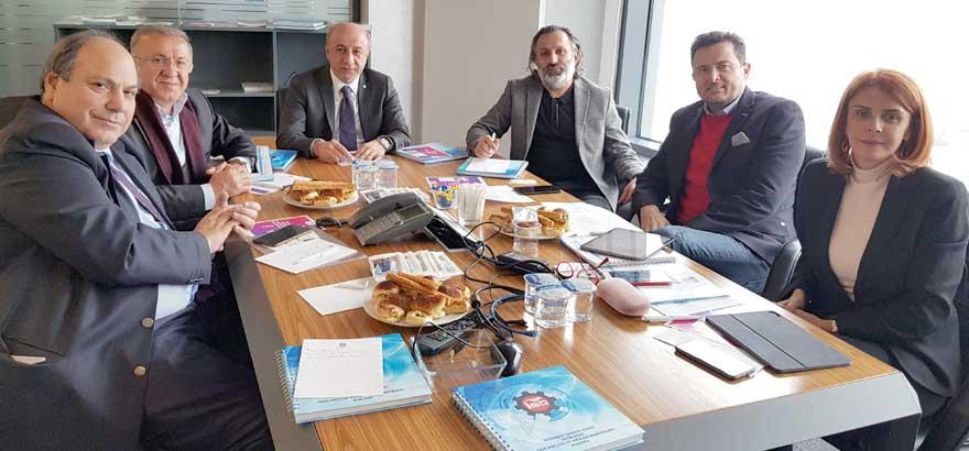 10. Grup  ve 12. Grup Meslek Komiteleri Ortak Toplantı Gerçekleştirdi