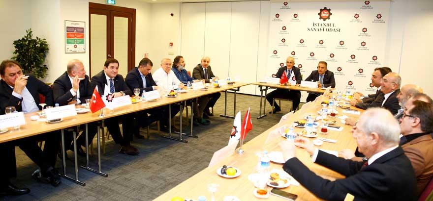 11, 12, 15, 17 ve 18. Grup Meslek Komiteleri Ortak Toplantı Gerçekleştirdi