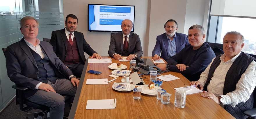 Odamız 12. Grup ve İstanbul Ticaret Odası 36. Grup Meslek Komitesi Üyeleri ile Ortak Toplantı Gerçekleştirildi
