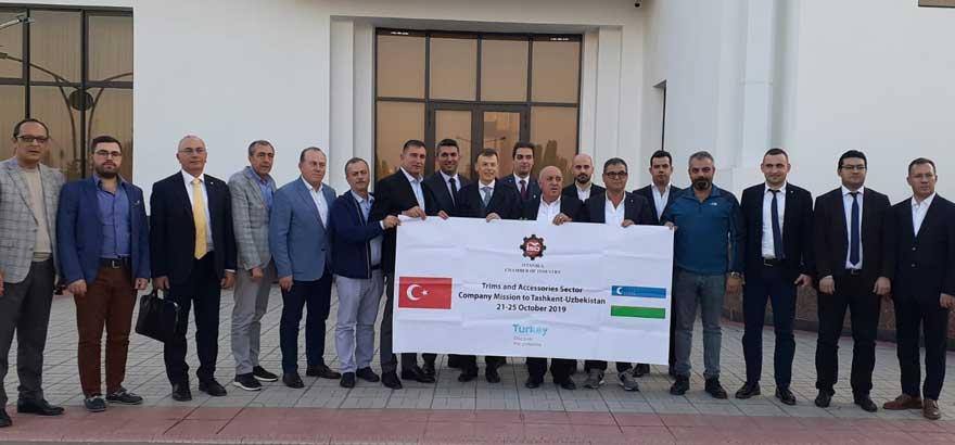 15. Grup Meslek Komitesi Üyeleri Sektörel İncelemeler İçin Özbekisitan'ı Ziyaret Etti