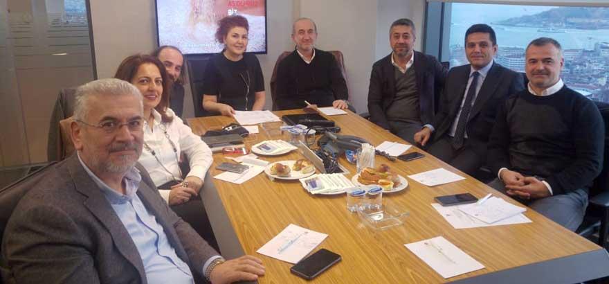 Ocak Ayı İlk Toplantımıza Sektörel Dernek Temsilcileri Katıldı
