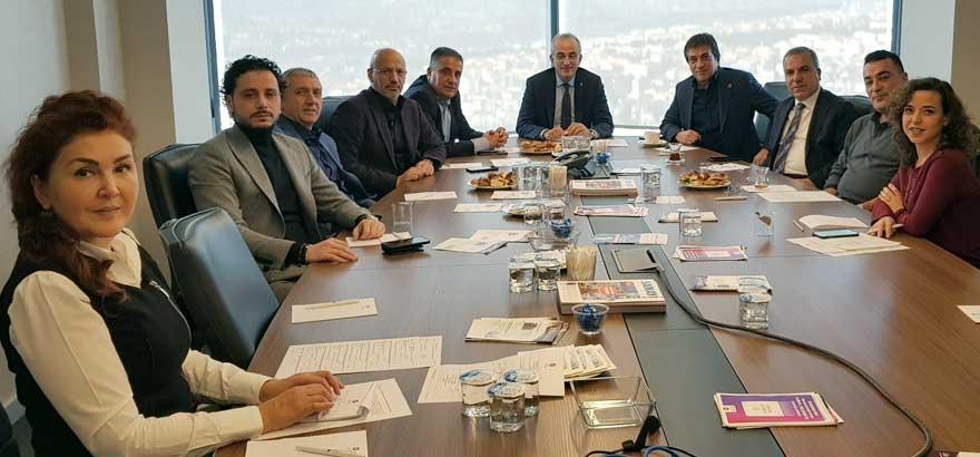 Aralık Ayı Toplantısına Yönetim Kurulu Başkan Yardımcısı İrfan Özhamaratlı Katıldı