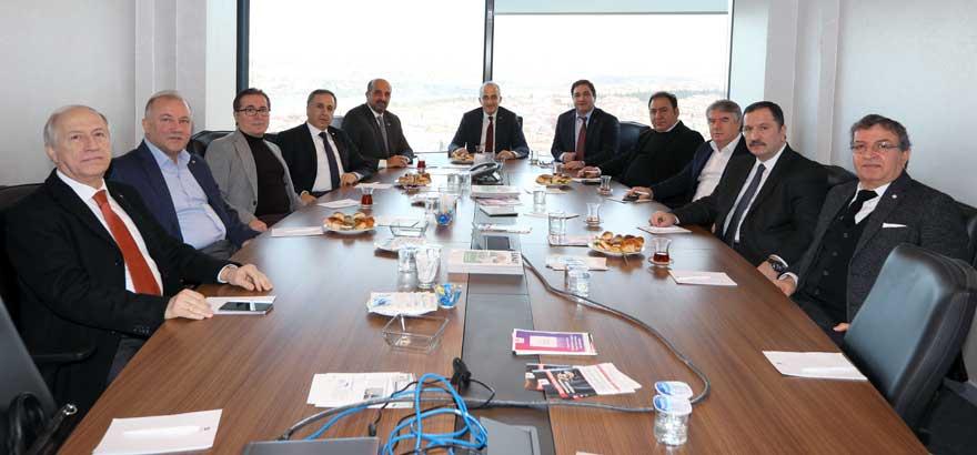 Odamız 18. Grup ve İstanbul Ticaret Odası 39. Grup Meslek Komitesi Üyeleri Ortak Toplantı Gerçekleştirdi