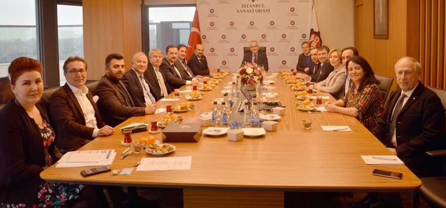 18. Grup İç Giyim Sanayii Meslek Komitemiz TİGSAD Yönetim Kurulu Üyeleri ile Ortak Toplantı Gerçekleştirdi