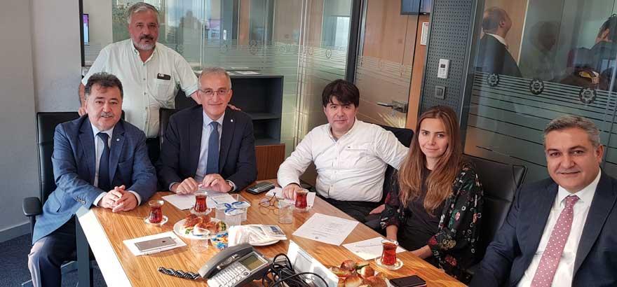 Meslek Komitemiz Ekim Ayı Toplantısına Yönetim Kurulu Başkan Yardımcısı İrfan Özhamarat'lı Katılmıştır