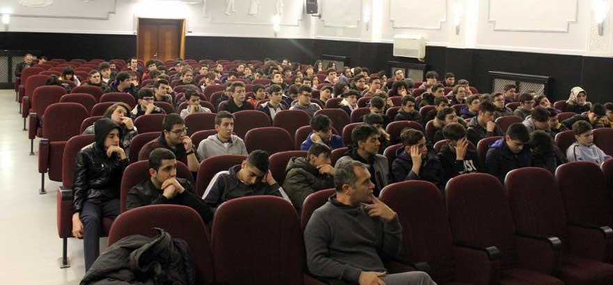 Zincirlikuyu İSOV MTAL Öğrencileri ile Söyleşi Gerçekleştirildi