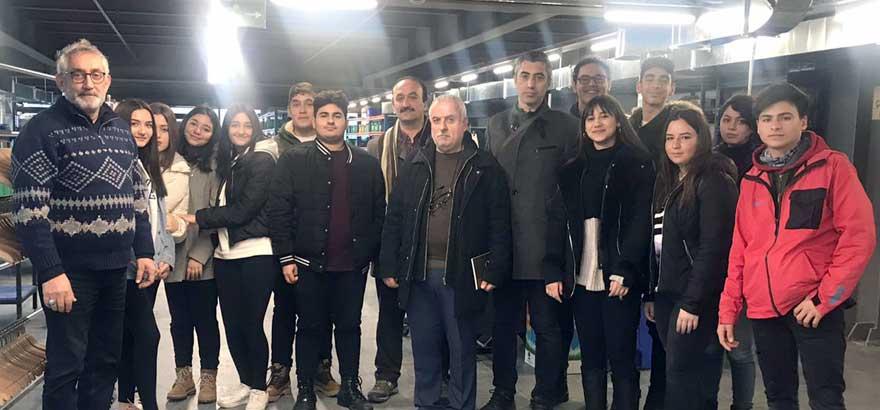 İSO Mesleki Eğitim Projemiz Kapsamında Zincirlikuyu İSOV MTAL öğrencileri İçin Ahmet Demirel Orman Ürünleri ve Nyn Askı&Ahşap Firmalarına Teknik Gezi Düzenlendi