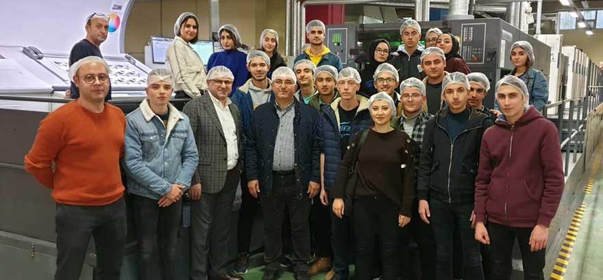 İSO Mesleki Eğitim Projesi Kapsamında Beylikdüzü Borsa İstanbul MTAL'de Programlanmış Firma Teknik Ziyaretleri Yapıldı