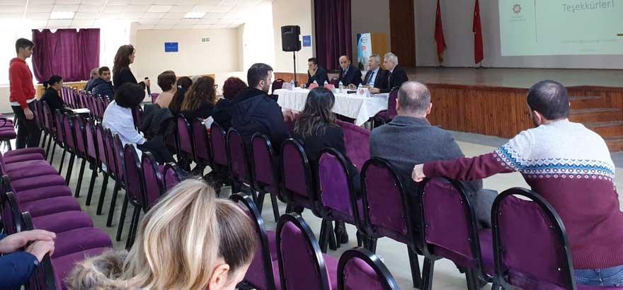 İSO Mesleki Eğitim Projesi Kapsamında Mehmet Rıfat Evyap MTAL'de Öğretmen Bilgilendirme Toplantısı Gerçekleştirildi