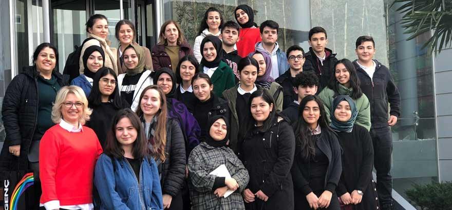 İSO Mesleki Eğitim Projesi Kapsamında Şeyh Şamil MTAL Kimya Teknolojisi Öğrencilerine Yönelik Kayalar Kimya'ya Teknik Gezi Gerçekleştirildi