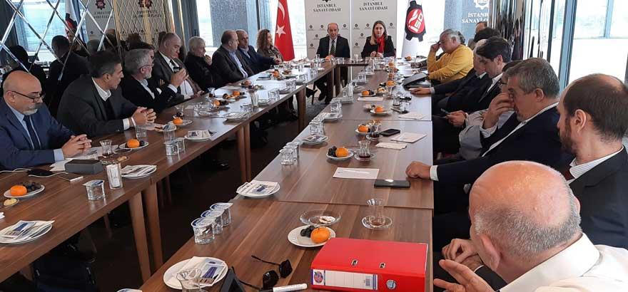32. Grup Meslek Komitemiz ile Kauçuk Derneği Ortak Toplantıda Bir Araya Geldi