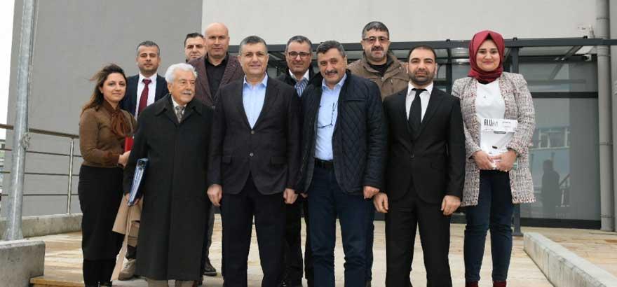 Esenyurt Belediye Başkanı Alkop MTAL'yi Ziyaret Etti