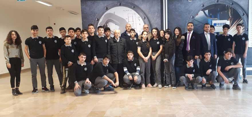 İSO Mesleki Eğitim Projesi Kapsamında Alüminyum Konusunda İhtisaslaşmış Okul Olmayı Hedefleyen Alkop MTAL'de TALSAD Yetkilileri İle Görüşüldü