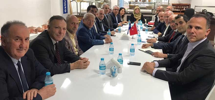İSO Mesleki Eğitim Projemiz Kapsamında, 11 Kasım Günü Sander MTAL'de Bir Toplantı Düzenlendi
