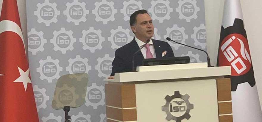 44. Grup Meclis Üyesi Gökhan Turhan İSO'nun Haziran Ayı Meclis Toplantısında Söz Aldı