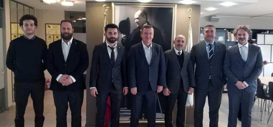 45. Grup Meslek Komitesi Üyeleri Alüminyum Yüzey İşlem Derneği ve Türkiye Döküm Sanayicileri Derneği'ni Ziyaret Etti