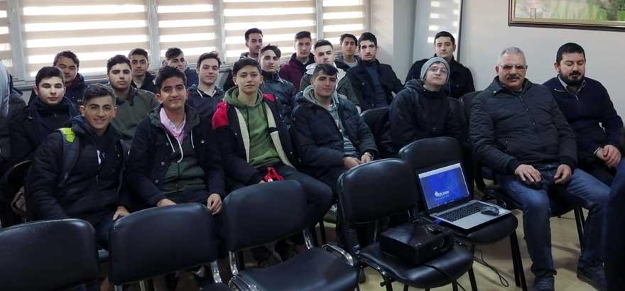 İSO Mesleki Eğitim Projesi Kapsamında Çekmeköy Taşdelen İMKB MTAL Öğrencileri Gül Pano San. ve Tic. Ltd. Şirketi'ni Ziyaret Etti