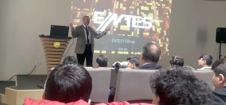 İSO Mesleki Eğitim Projesi Kapsamında Ümraniye Atatürk MTAL Öğrencileri ENTES Elektronik Firmasını Ziyaret Etti