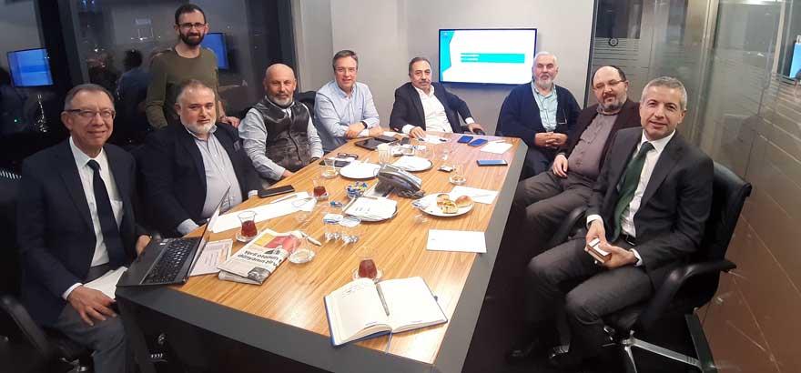 48. Grup Meslek Komitemiz ile Telekomünikasyon Uydu Ve Yayıncılık İş İnsanları Derneği Ortak Toplantıda Bir Araya Geldi