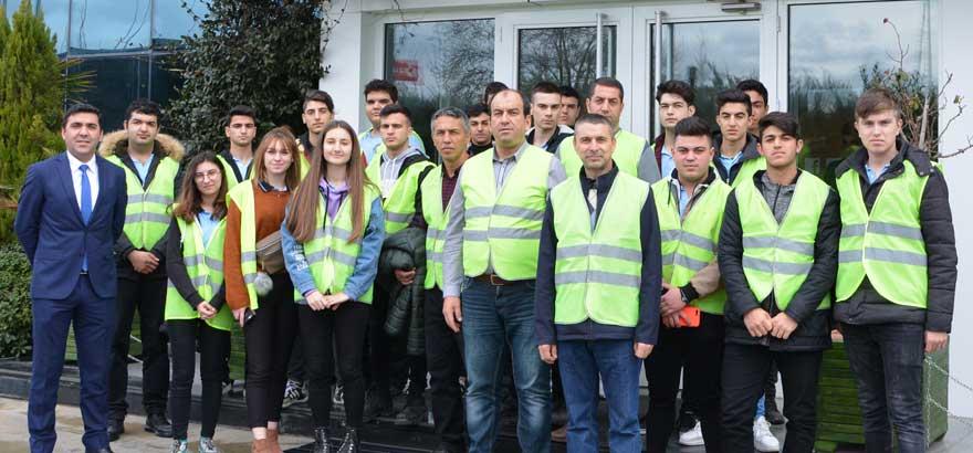 İSO Mesleki Eğitim Projesi Kapsamında Silivri MTAL Öğrencileri SİAD Başkanı Tarafından Ağırlandı ve Eğitim Aldı