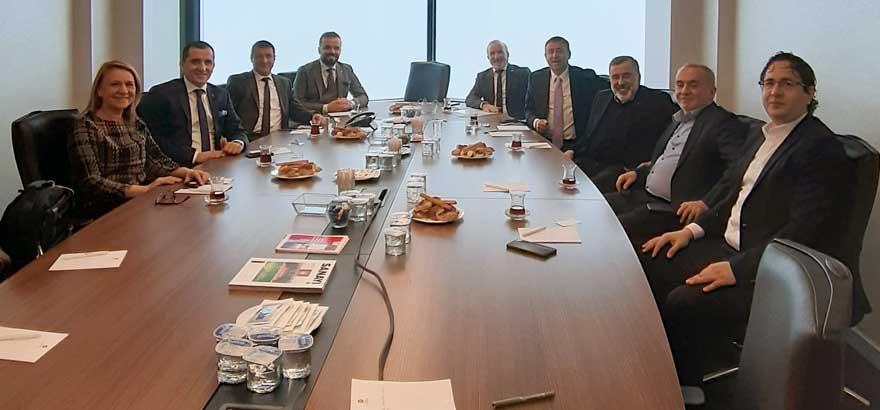 52. Grup Meslek Komitesi ile Ev ve EVSİD Şubat Ayı Meslek Komitesi Toplantısını Birlikte Gerçekleştirdi