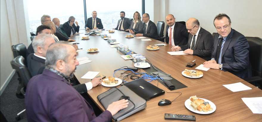 Gıda Ürünleri Meslek Komiteleri Ortak Toplantısı Gerçekleştirildi