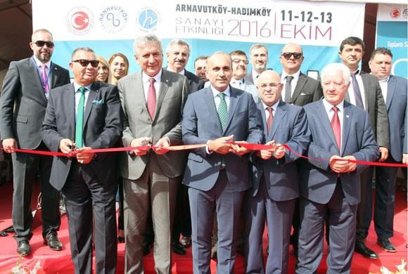 Üç Günlük Arnavutköy-Hadımköy Sanayi Etkinliği İSO Başkanı Bahçıvan'ın Katılımıyla Başladı