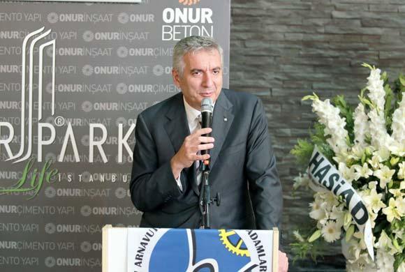 """HASİAD İftarında Konuşan Erdal Bahçıvan: """"Mega projeler, Hadımköy ve Arnavutköy'de büyük sinerji yaratıyor"""""""