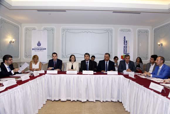 İstanbul'un Kentsel Dönüşümü İBB'deki Toplantıda Görüşüldü