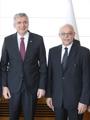 İktisadi Araştırmalar Vakfı Yönetimi İSO Başkanı Bahçıvan'ı Ziyaret Etti