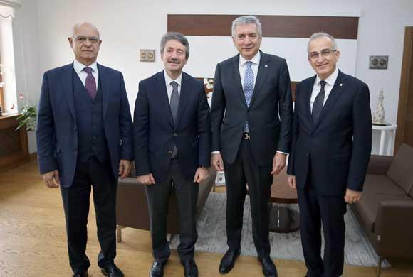İSO Başkanı Bahçıvan, İstanbul İl Milli Eğitim Müdürü Levent Yazıcı'yı Ziyaret Etti