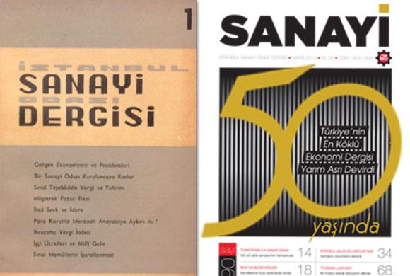 """Türkiye'de Sanayinin Nabzını Tutan İSO'nun """"SANAYİ"""" Dergisi 50 Yaşında"""