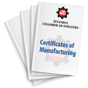 Certificates of Manufacturing