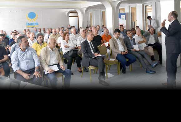İSO ile Çevre ve Şehircilik İl Müdürlüğü İMES'te İmar Barışı İçin Bilgilendirme Yaptı