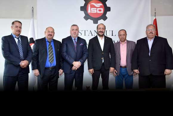 Türkiye'de Temaslarda Bulunan Irak Sanayi Odalarının Temsilcileri İSO'yu Ziyaret Etti