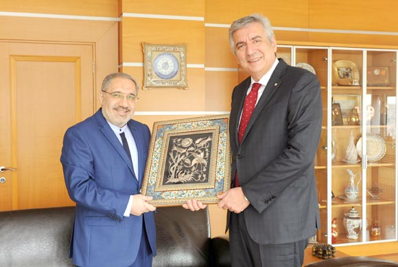Courtesy Visit From Consul General of Iran in Istanbul to ICI Chairman