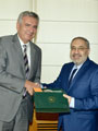 İran Başkonsolosu Mortazaeifar'dan İSO Başkanı Bahçıvan'a Veda Ziyareti