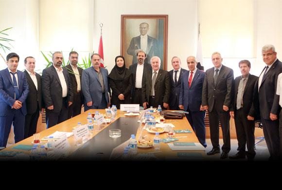 İstanbul Sanayi Odası, İranlı Sanayici ve Yetkililerle OSB Konusunda Toplantı Yaptı