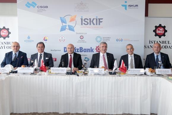 """İSO, İSKİF 2016'nın """"10 Bin Kişiye İstihdam"""" Hedefine Destek Oluyor"""