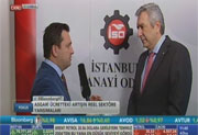 İSO Başkanı Erdal Bahçıvan Bloomberg TV'de, 06.01.2016