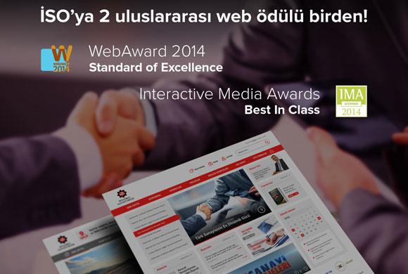 İstanbul Sanayi Odası Web Sitesine 2 Uluslararası Ödül