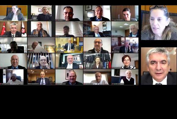 İstanbul Sanayi Odası Vakfı (İSOV) Mütevelli Heyet Toplantısı Video Konferans Yöntemi ile Gerçekleştirildi