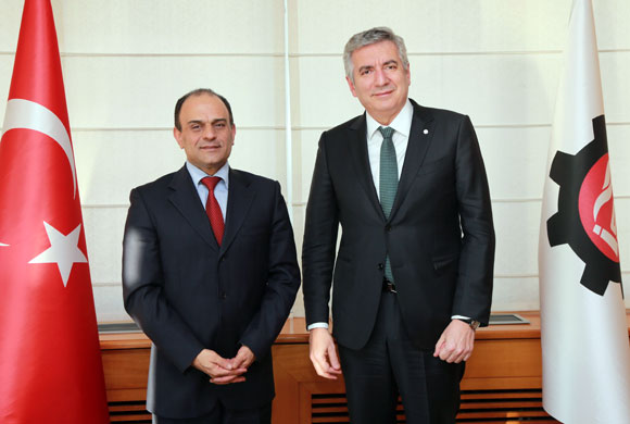 Shai Cohen, Consul General of Israel to Istanbul Pays a Courtesy Visit to ICI Chairman Bahçıvan