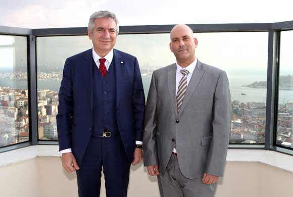 Courtesy Call by Sfari, Consul General of Israel in Istanbul, to ICI Chairman Bahçıvan