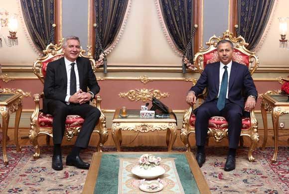 İSO Başkanı Erdal Bahçıvan, İstanbul'un Yeni Valisi Ali Yerlikaya'ya Nezaket Ziyaretinde Bulundu