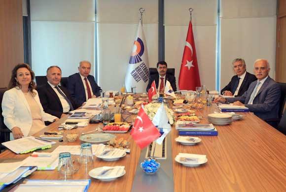 İSTKA'nın Ağustos Yönetim Kurulu Toplantısı İSO'nun Ev Sahipliğinde Yapıldı