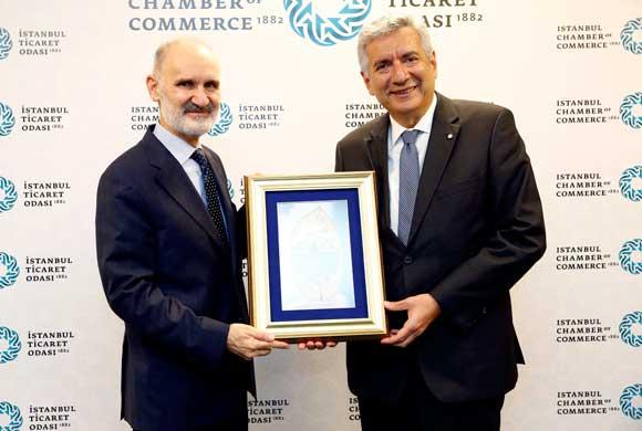 İSO Başkanı Bahçıvan, İTO Başkanı Avdagiç ve Yönetim Kurulu Üyelerini Ziyaret Etti