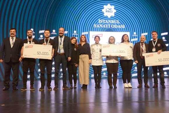 İTÜ Çekirdek BigBang'de İSO'nun Ödüllerini Hyggefood Company, Filamex ve İltema Aldı