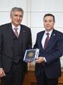 Kazakistan İstanbul Başkonsolosu'ndan İstanbul Sanayi Odası Başkanı'na Ziyaret
